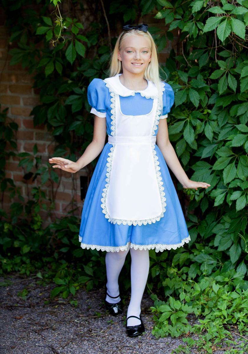 アリス コスチューム 子供 ディズニー子供 ふしぎの国のアリス 女の子 キャラクター コスプレ 衣装 仮装