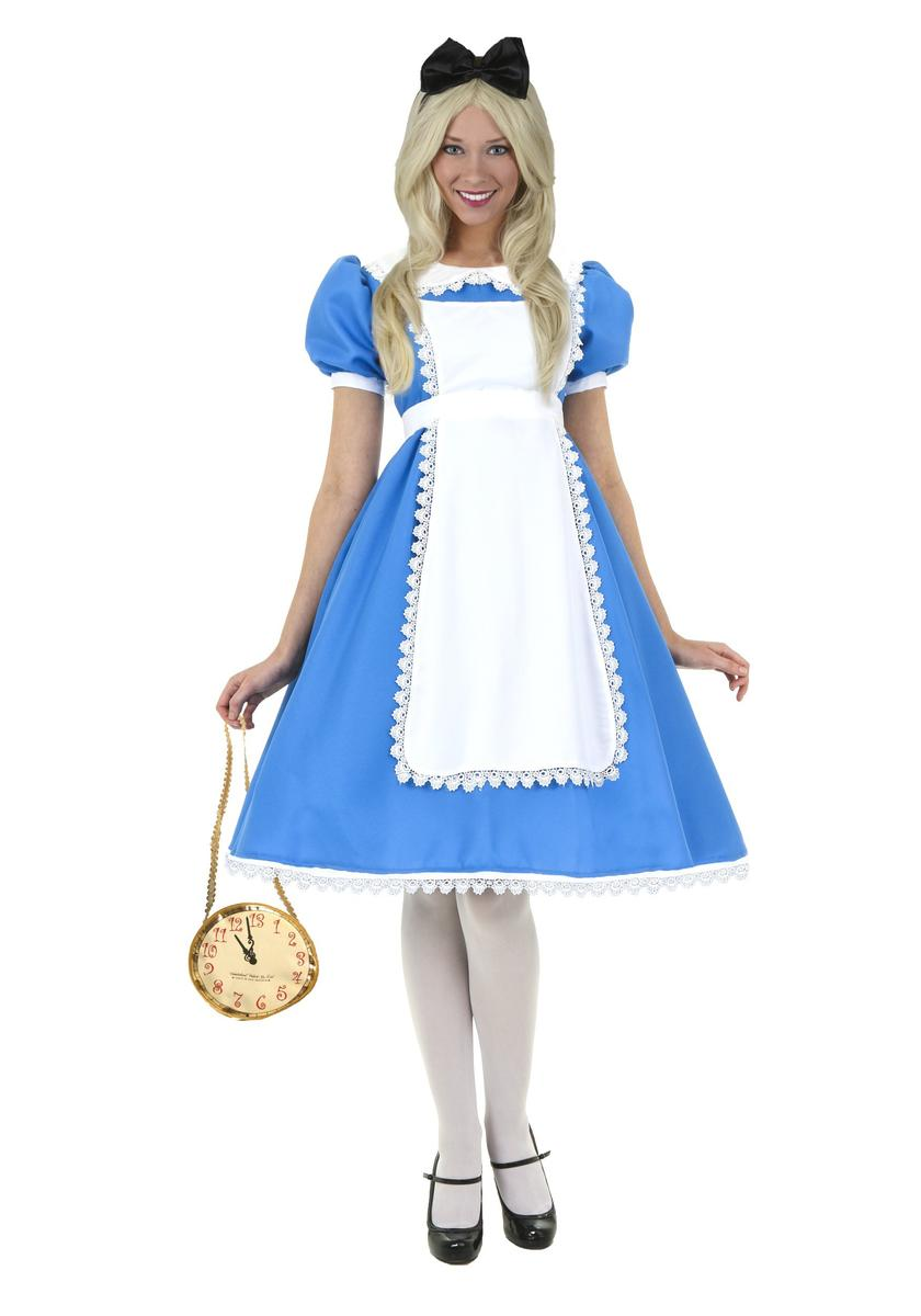 ディズニー コスチューム 大人 ふしぎの国のアリス アリス 大きいサイズ 海外 レディース キャラクター コスプレ 衣装 仮装