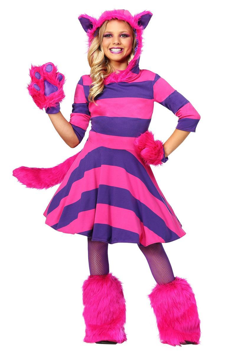 ディズニー コスチューム 子供 ふしぎの国のアリス チェシャ猫 女の子 キャラクター 動物 コスプレ 衣装 仮装