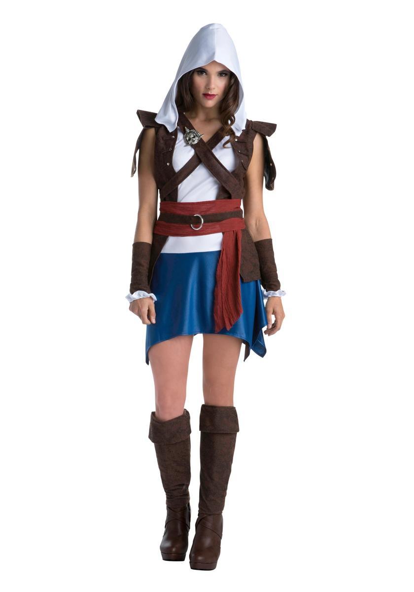 アサシンクリード エドワード ケンウェイ 大人 女性 レディース コスチューム コスプレ 仮装 衣装 映画 ゲーム キャラクター