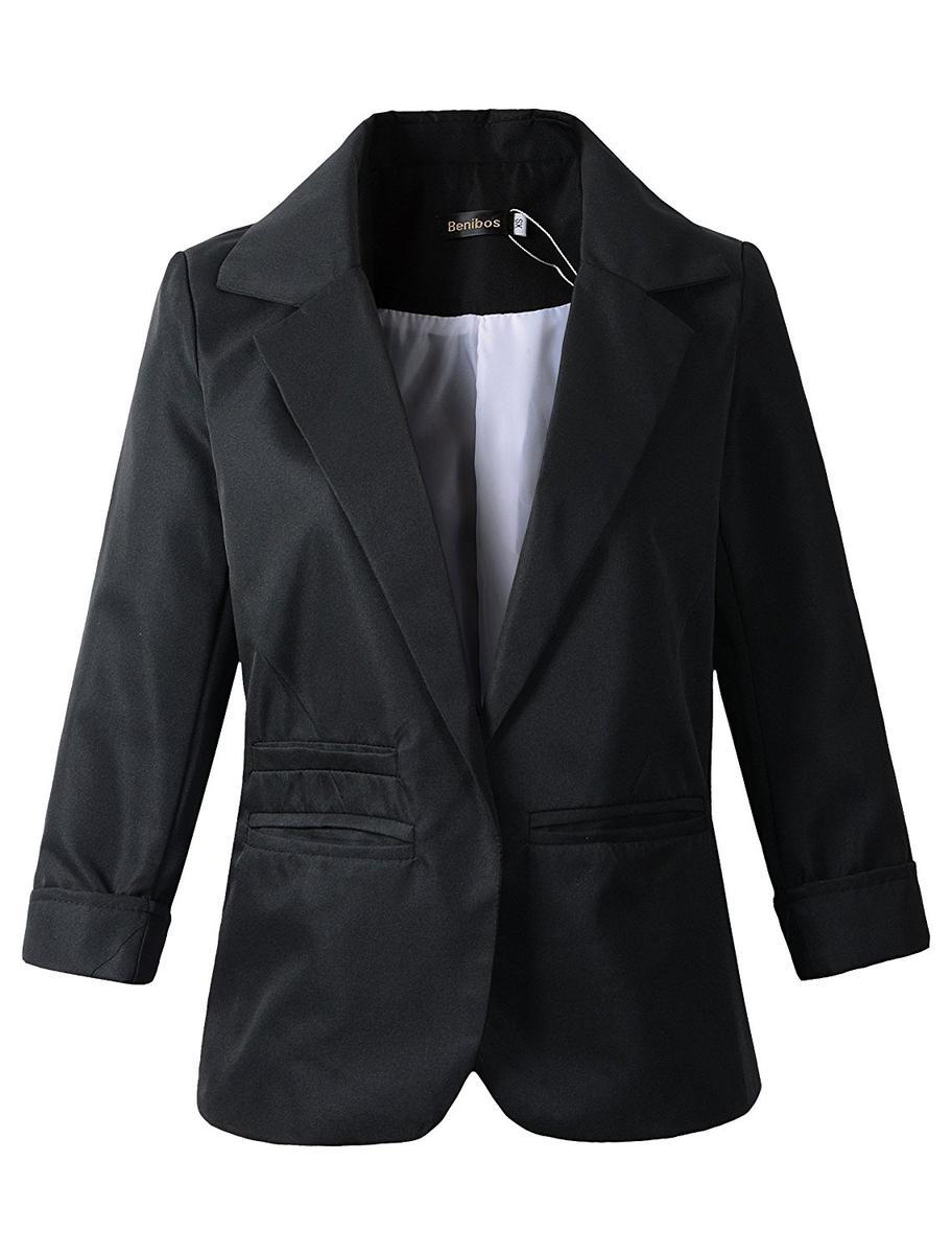 レディース ブレザー テーラード ジャケット 黒 ブラック パーティ 衣装