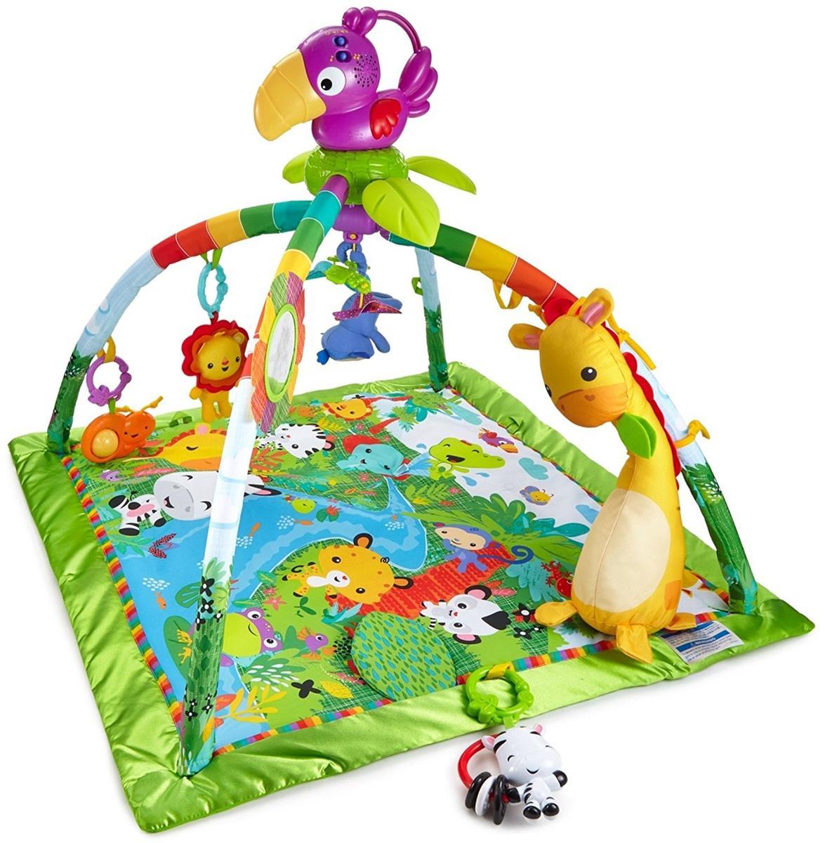 ベビージム プレイマット カラフル 赤ちゃん ジム 出産祝い 知育 玩具