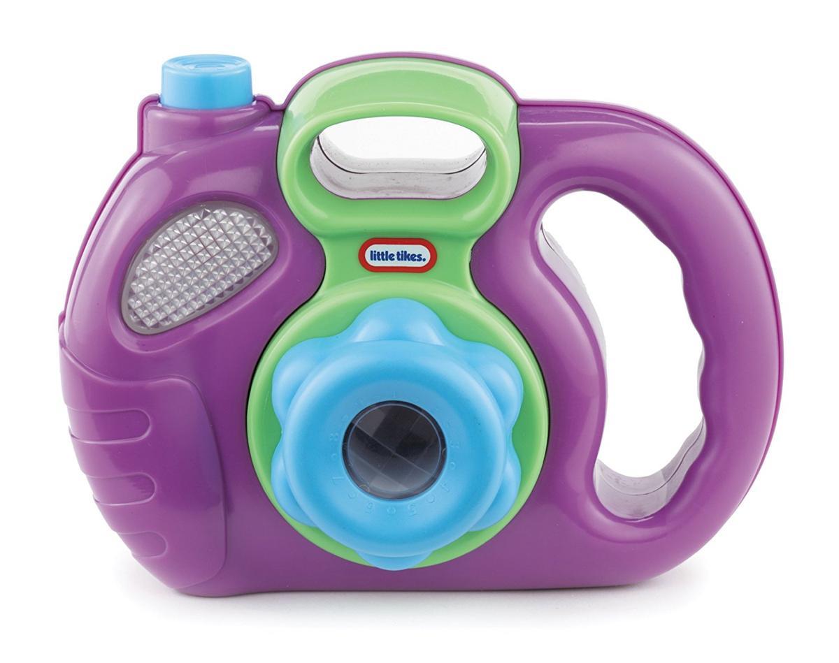 Little Tikes おもちゃ カメラ 紫 動物 写真 子供 ままごと ごっこ遊び