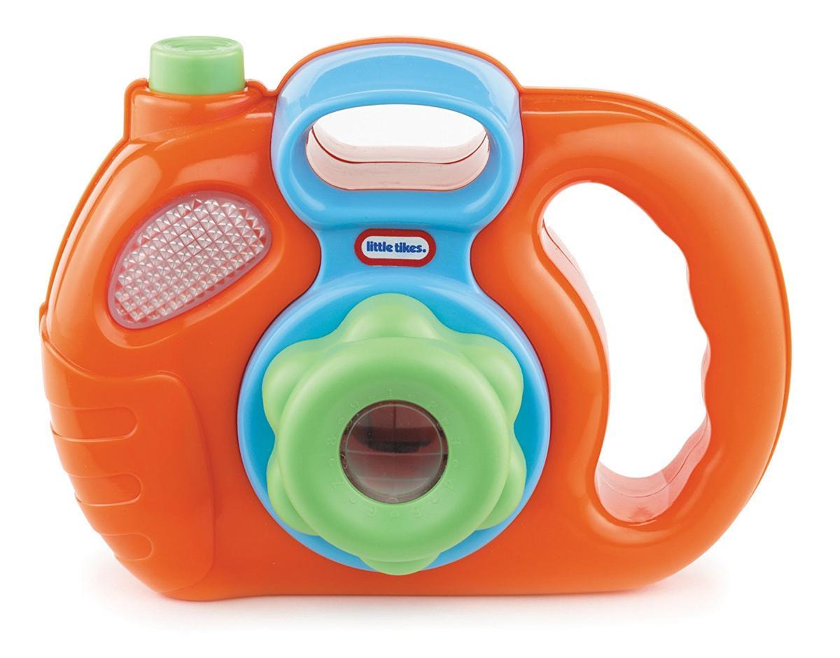 Little Tikes おもちゃ カメラ オレンジ 動物 写真 子供 ままごと ごっこ遊び