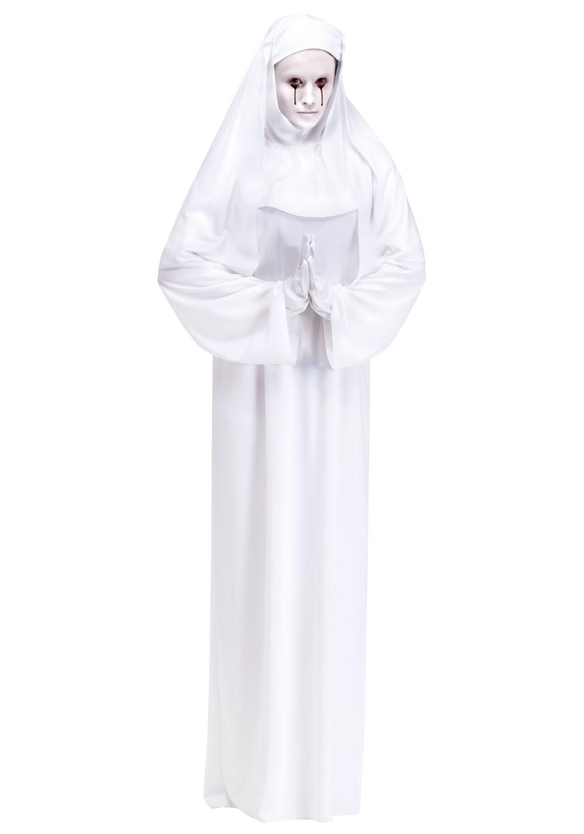 アメリカンホラーストーリー Asylum 白い 修道女 尼僧 アメホラ コスチューム コスプレ 仮装 衣装 アメホラ ハロウィン ホラー