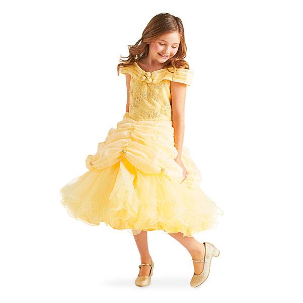 ディズニー コスチューム 子供 美女と野獣 ベル ドレス プリンセス シグネチャー コレクション パーティー イベント 誕生日