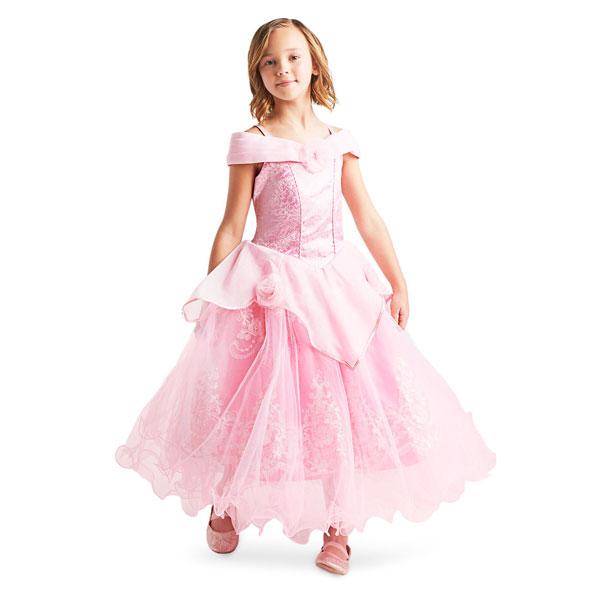 ディズニー コスチューム 子供 眠れる森の美女 オーロラ姫 ドレス プリンセス シグネチャー コレクション パーティー イベント 誕生日