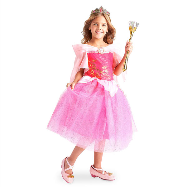 ディズニー コスチューム 子供 眠れる森の美女 オーロラ姫 コスプレ ドレス 衣装 ハロウィン イベント 誕生日 パーティー