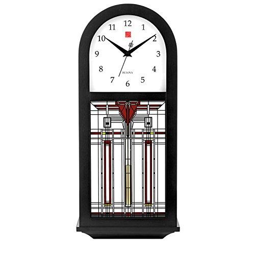 ブローバ Bulova 掛け時計 フランクロイドライト Frank Lloyd Wright チャイム 音 鳴る サウンド 時計