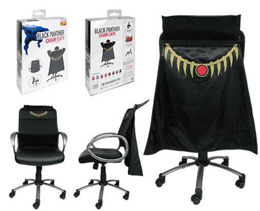 ブラックパンサー 椅子用 飾り マント マーベル ヒーロー グッズ インテリア