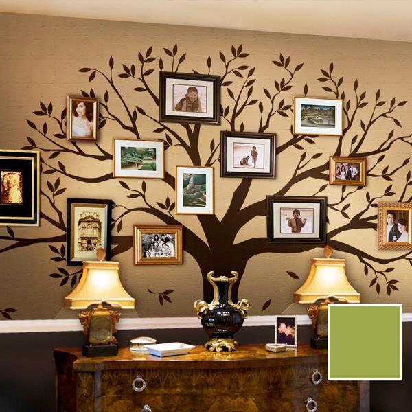 ツリー ウォール ステッカー ファミリーツリー 家族 家系図 壁 飾り 写真を飾ろう