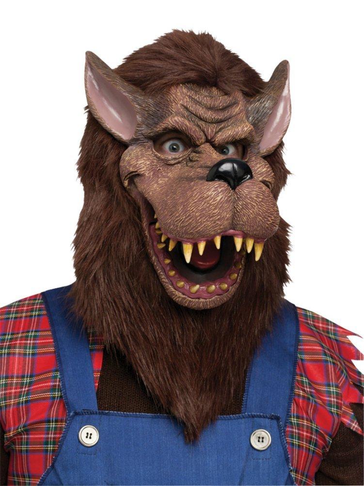 狼 オオカミ ビッグバッドウルフ マスク 被り物 動物 コスプレ 仮装