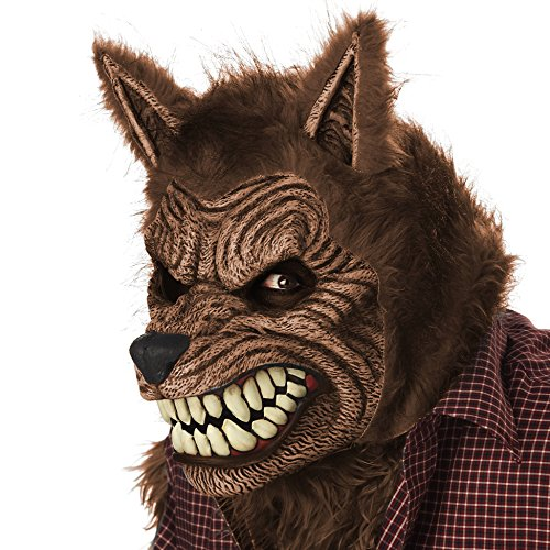 狼 オオカミ ウルフ マスク 被り物 口 動く 動物 コスプレ 仮装