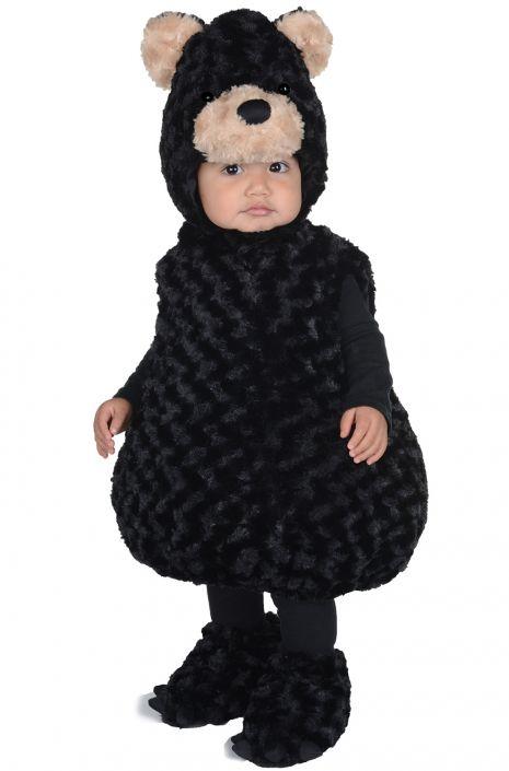 幼児 くま 子供 黒 コスチューム コスプレ 仮装 動物 衣装