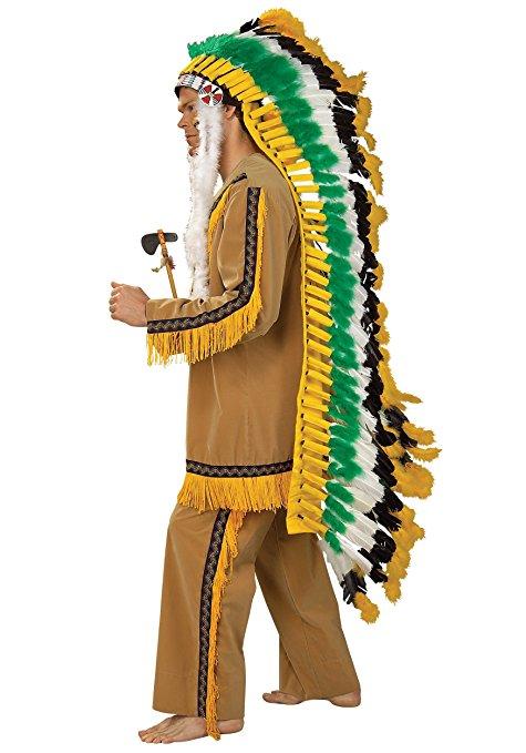 インディアン ネイティブアメリカン 羽根飾り 頭飾り コスプレ 仮装 グッズ
