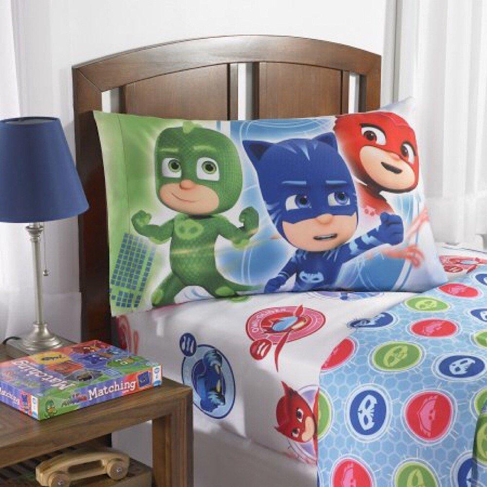 しゅつどう! パジャマスク セミダブル / ダブル シーツ セット 子供 寝具