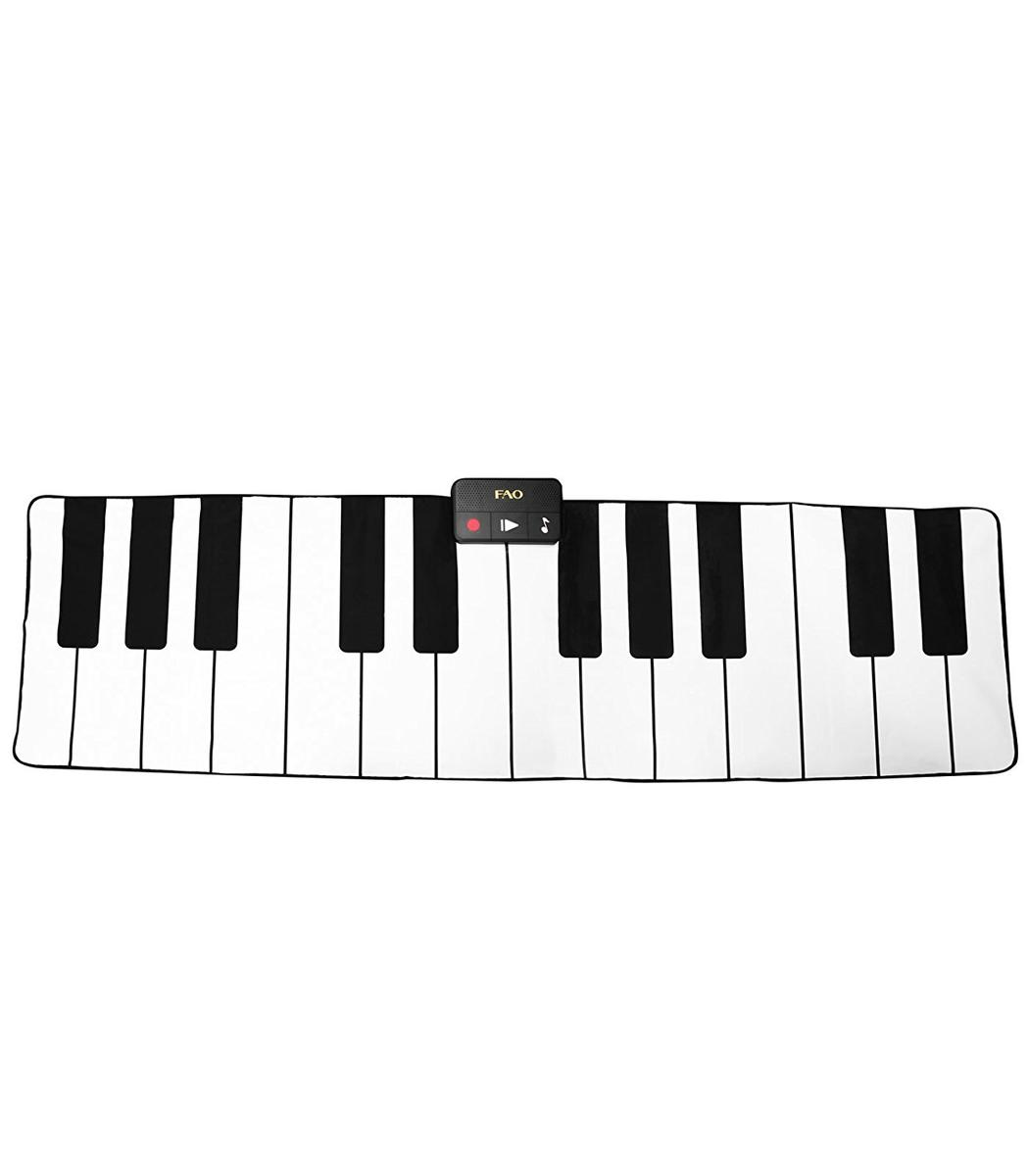 ピアノ マット FAO Schwarz 175cm x 79cm ピアノマット 楽器 おもちゃ ダンス エクササイズ 海外 グッズ タブレット型ピアノ