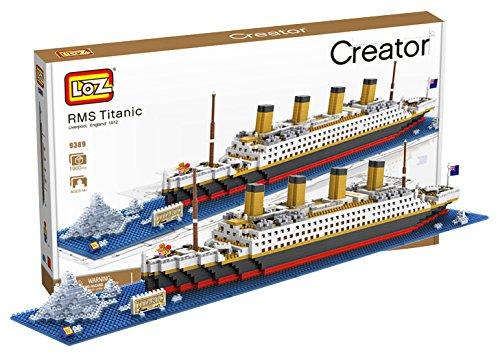 LOZ ブロック おもちゃ タイタニック号 1860ピース 船 海外 玩具