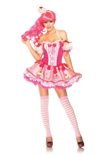 ベイビーケーキ コスチューム ハロウィン コスプレ 仮装 カップケーキ ピンク メルヘン 可愛い 衣装
