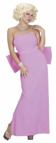 芸能人 歌手マリリンモンロー コスチューム 衣装 マリリン・モンロー ピンクダイアモンド 大人用 あす楽