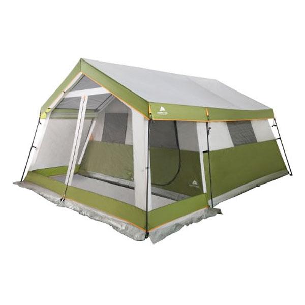 テント 8人用 オザークトレイル 大人数 キャビンテント スクリーンポーチ 運搬用キャリーバッグ付き