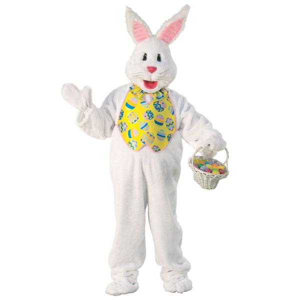 うさぎ 着ぐるみ ホワイトバニー マスコット 動物 イベント パーティー 舞台 イースター 復活祭 エッグハント