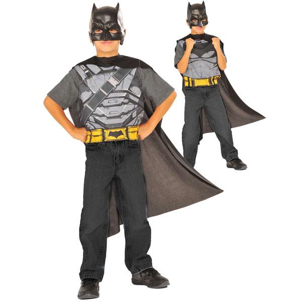 コスプレ 子供 衣装 男の子 人気 バットマン スーパーマン リバーシブル コスチューム セット マント マスク ハロウィン イベント パーティー ごっこ遊び