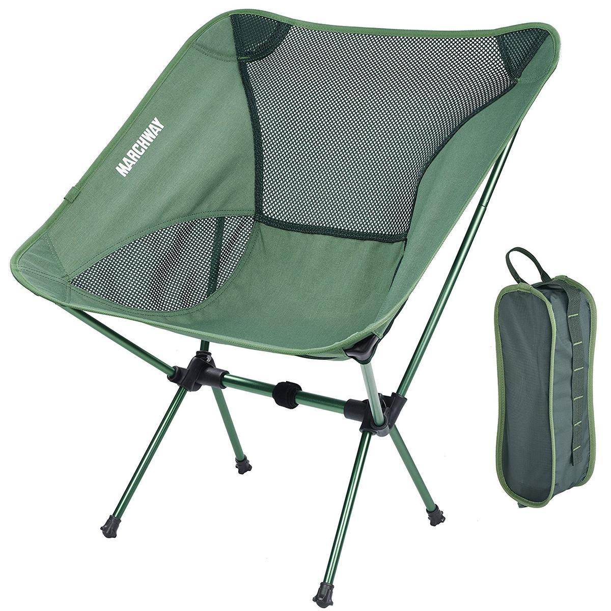 アウトドア キャンプ 椅子 グリーン 緑 折りたたみ 軽い 海外 MARCHWAY グッズ