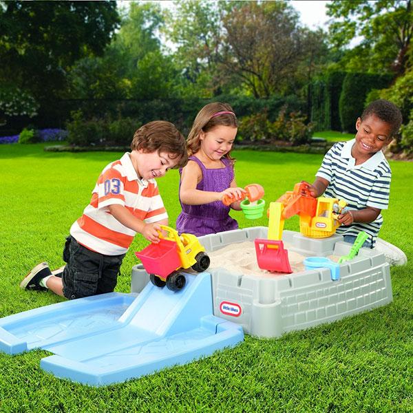 砂遊び ビッグディガー サンドボックス 子供 砂場 おもちゃ 水遊び Little Tikes