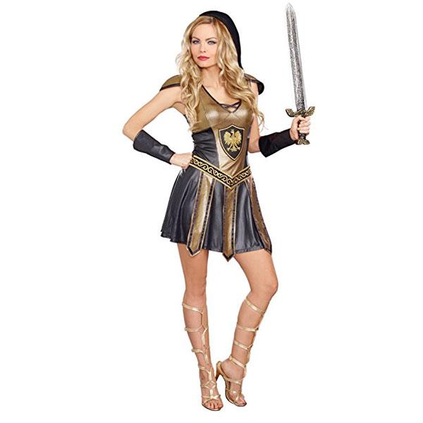 古代 戦士 コスプレ レディース コスチューム ハロウィン 衣装 イベント パーティー 演劇 舞台 ファンタジー