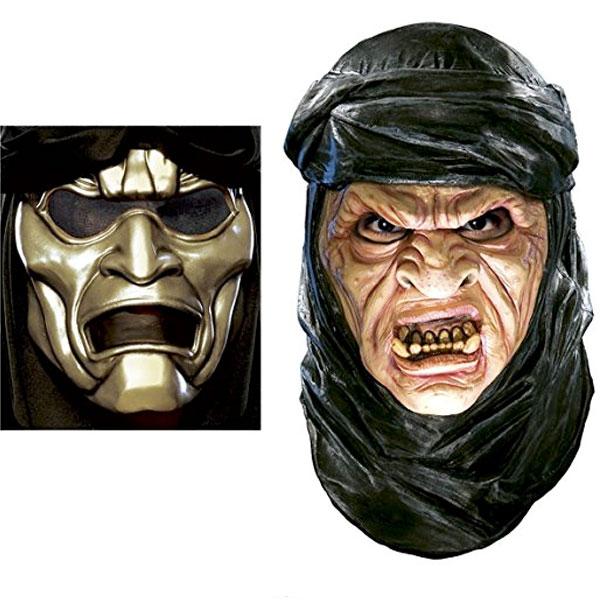 300 スリーハンドレッド イモータル オーバーマスク付き ラテックス マスク シルバー