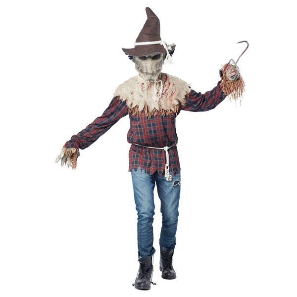 悪魔 案山子 大人 不気味 コスチューム かかし ハロウィン 衣装 イベント パーティー