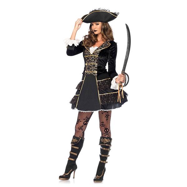 海賊 レディース コスチューム パイレーツ ハロウィン 衣装 イベント パーティー 演劇 舞台 S