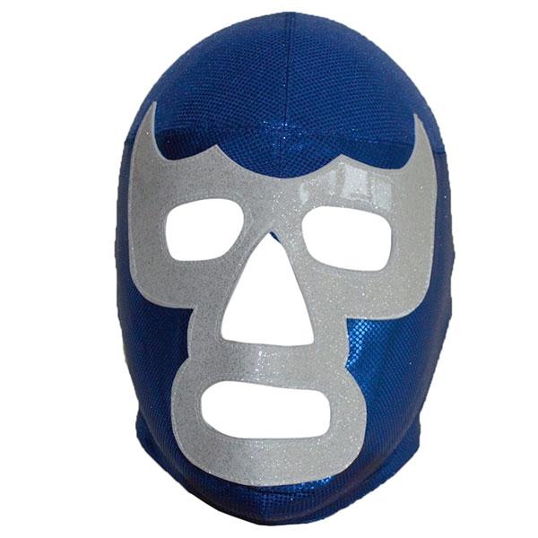 プロレス マスク ブルー・デモン セミプロ 大人 覆面 レスラー コスプレ