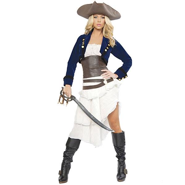 コロニアル 海賊 コスチューム デラックス パイレーツ 大人 女性 衣装