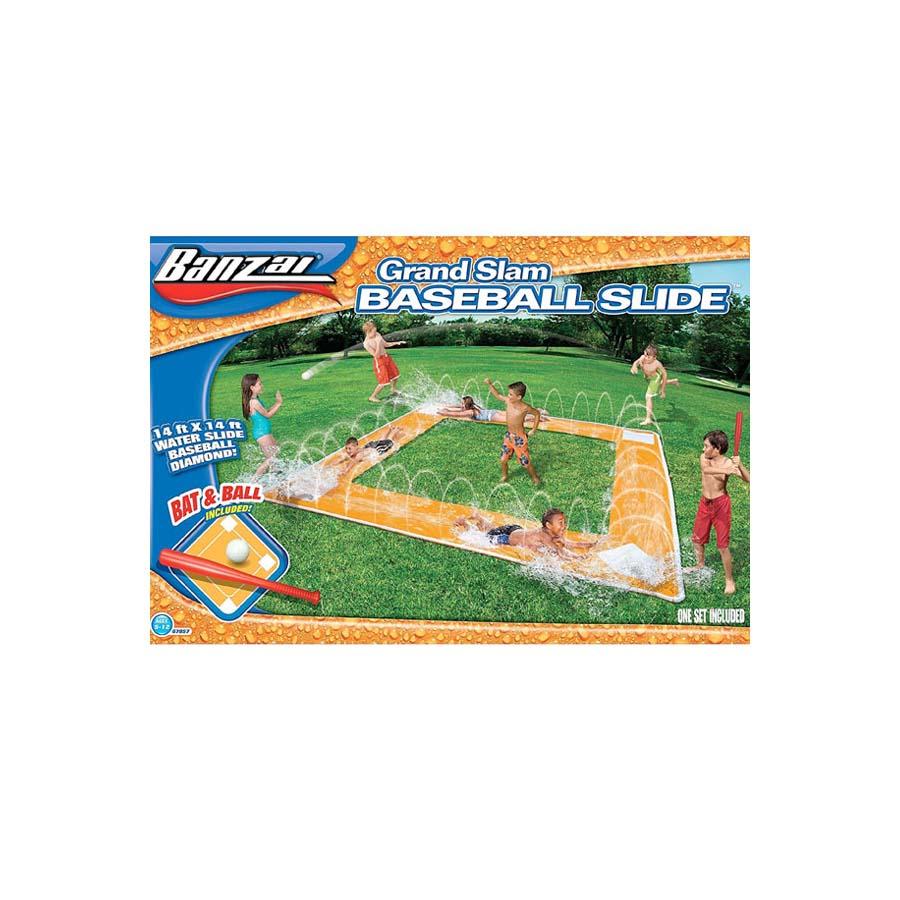 水遊び グランド スラム ベースボール ウォーター スライダー 遊具 通常便は送料無料