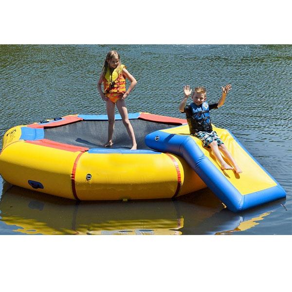 水遊び 水上 子供 トランポリン アイランド ポッパー 通常便は送料無料