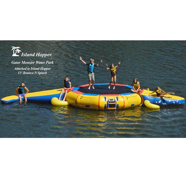 水遊び 水上 子供 トランポリン ゲータモンスター13 アイランド ホッパー 通常便は送料無料