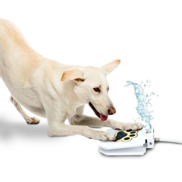 犬 水遊び ペット スプリンクラー ステップ オン ドッグ ファウンテン 通常便は送料無料
