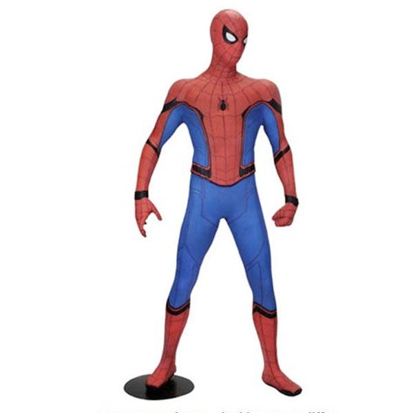 スパイダーマン 等身大 フィギュア フォーム レプリカ スパイダーマン ホームカミング マーベル 通常便は送料無料
