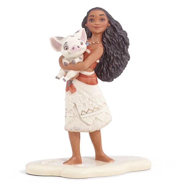 モアナ & プア レノックス ディズニー Lenox モアナと伝説の海 置物 飾り ギフト 通常便は送料無料