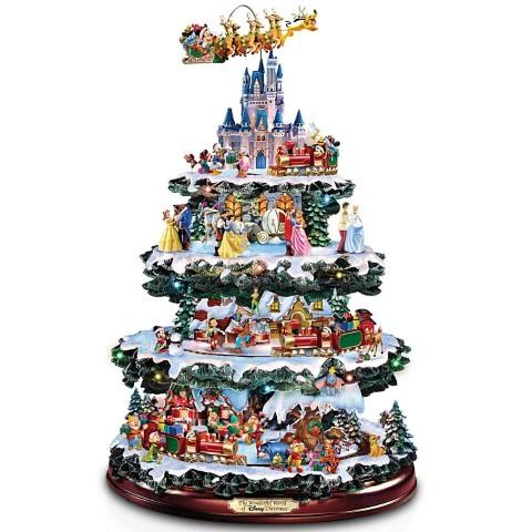 ディズニー 卓上 クリスマスツリー The Wonderful World Of Disney 40cm クリスマス インテリア 飾り ウインター シーズン 部屋 デコレーション