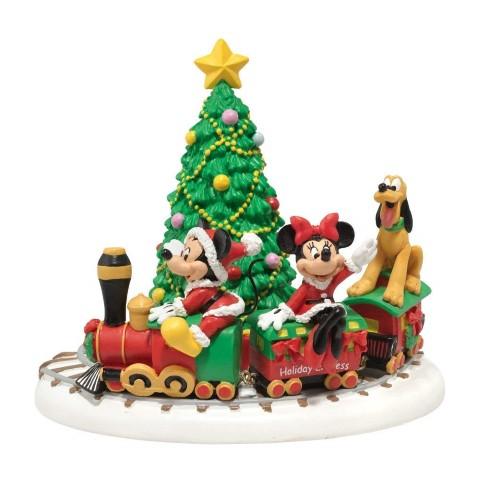 ミッキー ホリデー エクスプレス ディズニー クリスマスツリー デコレーション ディズニービレッジコレクション インテリア 飾り ウインター シーズン