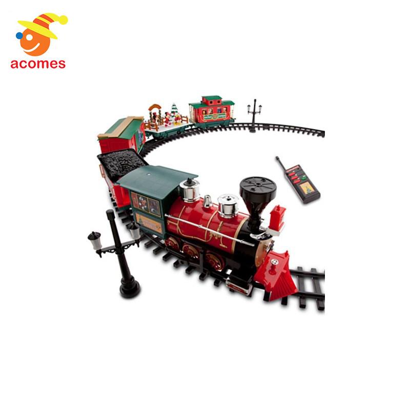 ディズニー パーク クリスマス トレイン セット 30ピース 子供 おもちゃ クリスマス プレゼント ギフト