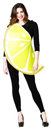 おもしろい コスチューム レモン スライス 果物 フルーツ 食べ物 コスチューム コスプレ 仮装