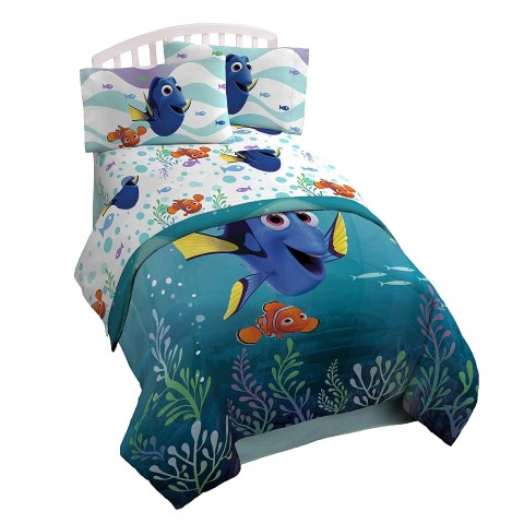 ファインディングドリー ニモ ドリー シーツ コンフォーター セット ベッドセット ツインサイズ 寝具 シーツ 布団 ベッド 雑貨