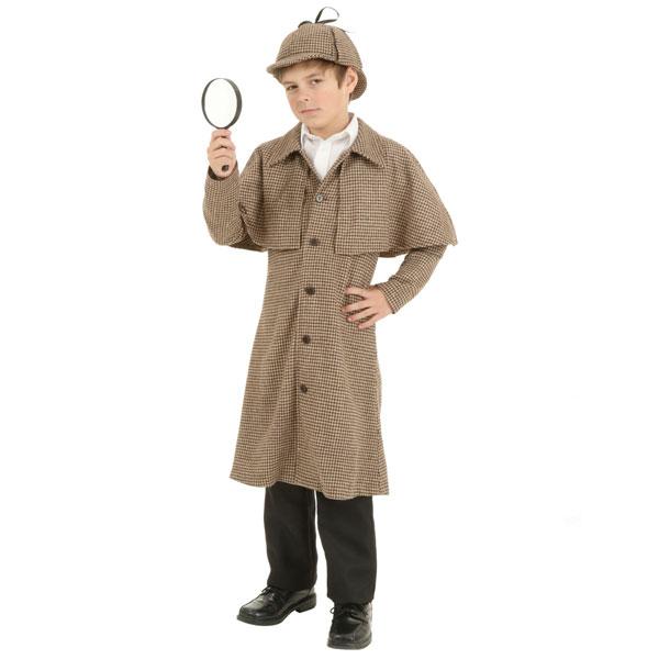 シャーロック ホームズ コスチューム 探偵 衣装 子供 コナン 通常便は送料無料