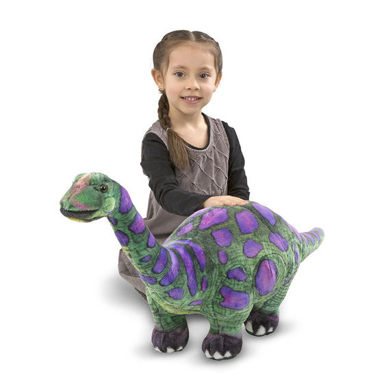 アパトサウルス ぬいぐるみ ジュラシック 恐竜 メリッサ&ダグ 動物 Melissa&Doug ギフト プレゼント