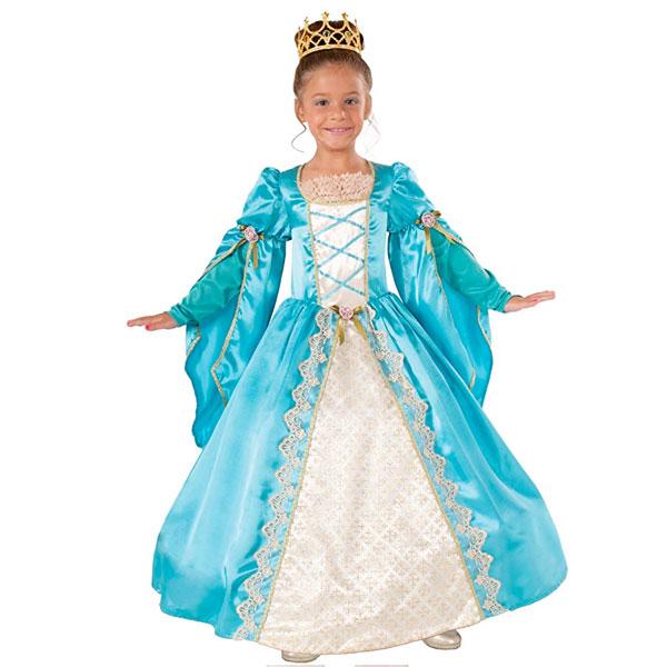 プリンセス 子供用 コスチューム コスプレ レディース 貴族 中世 ヨーロッパ クイーン 王妃 演劇 舞台 仮装 変装 通常便は送料無料