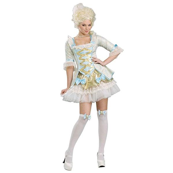 マリーアントワネット 大人用 コスチューム コスプレ レディース 貴族 中世 ヨーロッパ ルネッサンス 王妃 演劇 舞台 仮装 変装 通常便は送料無料